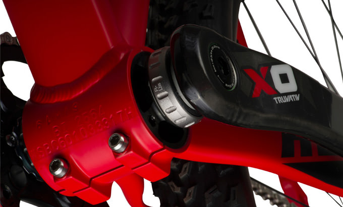 Specialized Carve Pro Ned Overend pedalier