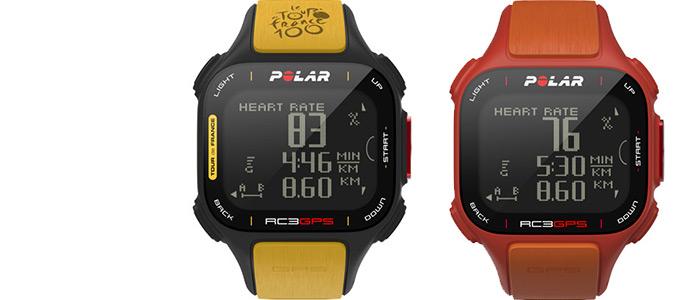 Polar RC3 GPS tour de francia