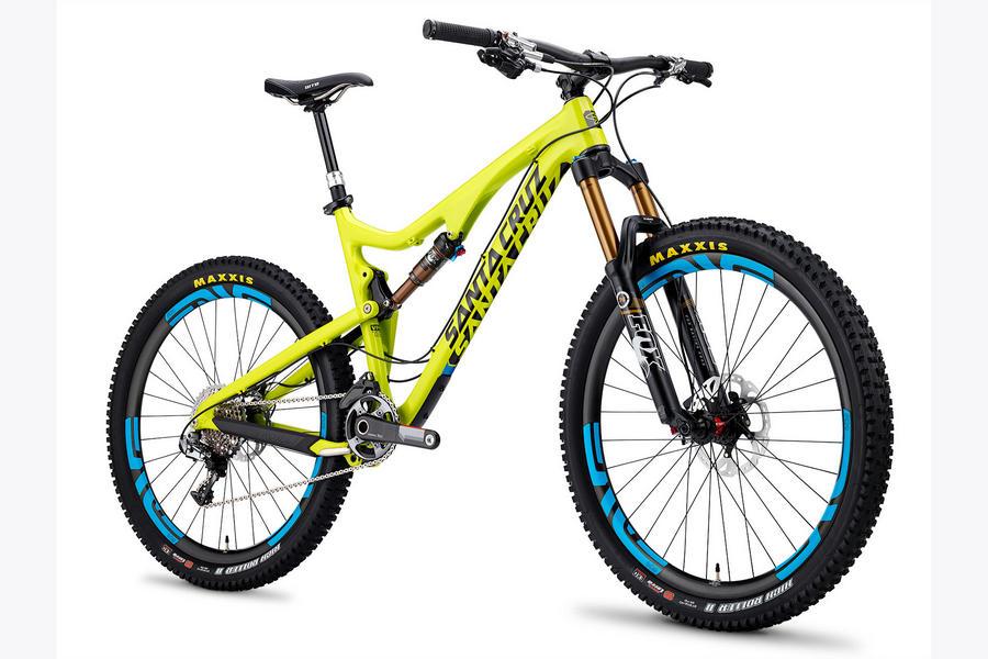 Santa Cruz Bronson yellow