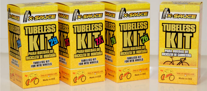 X-Sauce Kit Tubeless