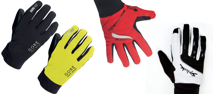guantes MTB invierno