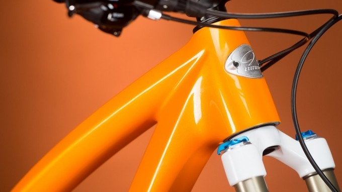 Niner Jet 9 Carbon Orange detail