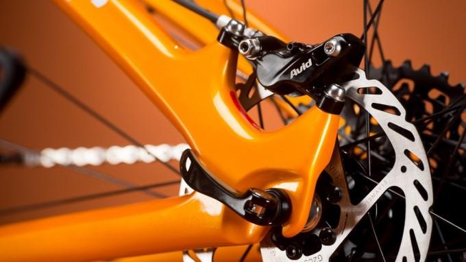 Niner Jet 9 Carbon Orange brake