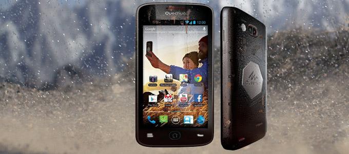 quechua phone 5 smartphone decathlon