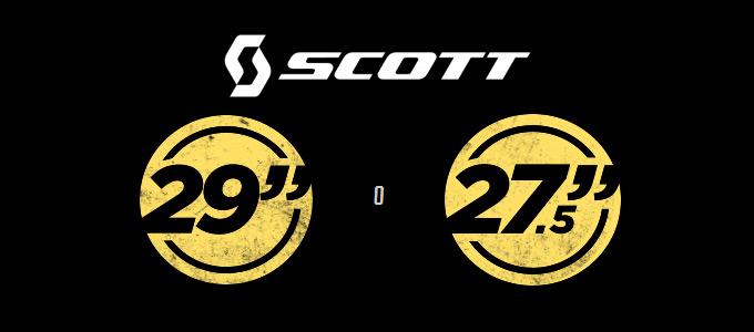 "Scott 27,5"" o 29"""