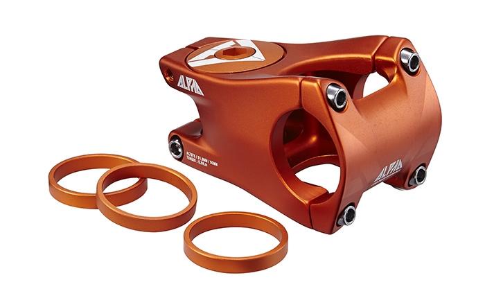 Ride Alpha potencia 50 mm freeride naranja