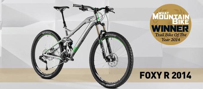 Mondraker Foxy mejor bicicleta trail 2014