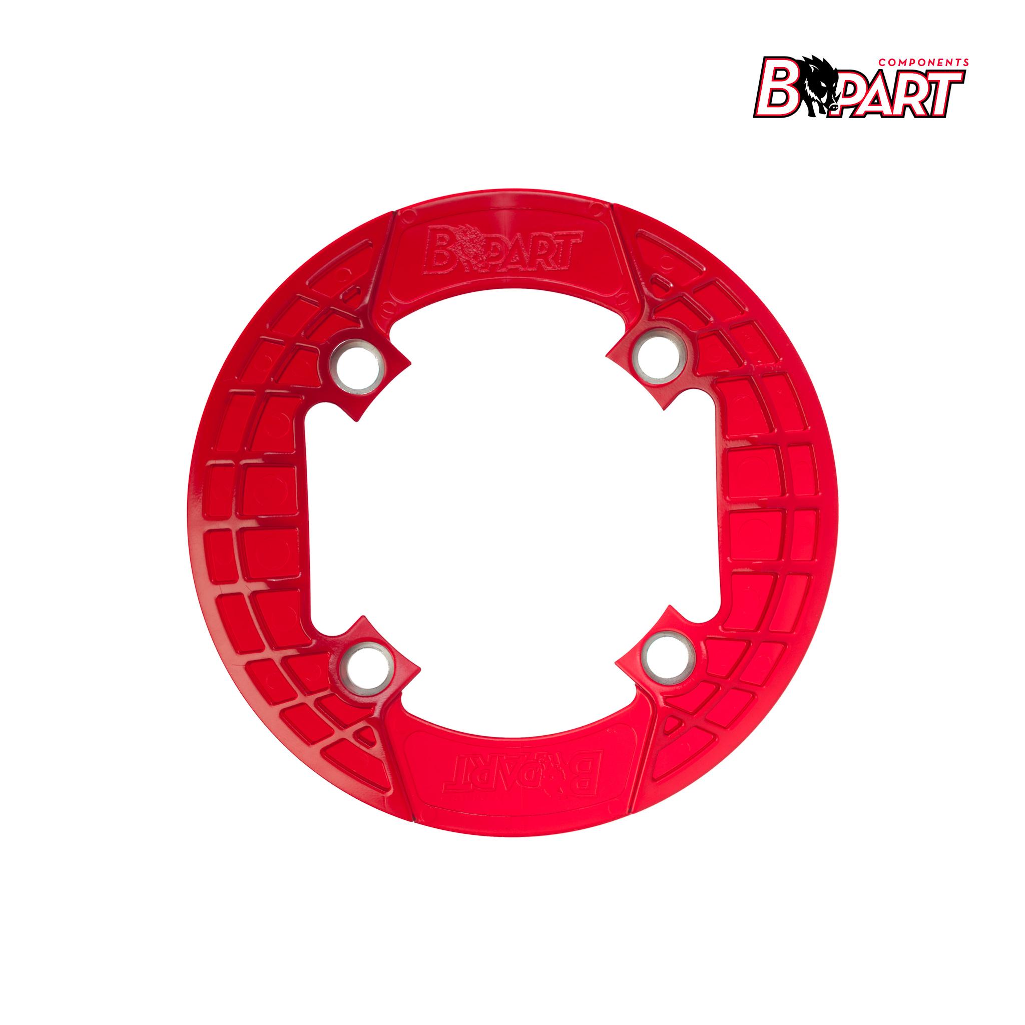 Bpart Components cubreplatos rojo traslucido