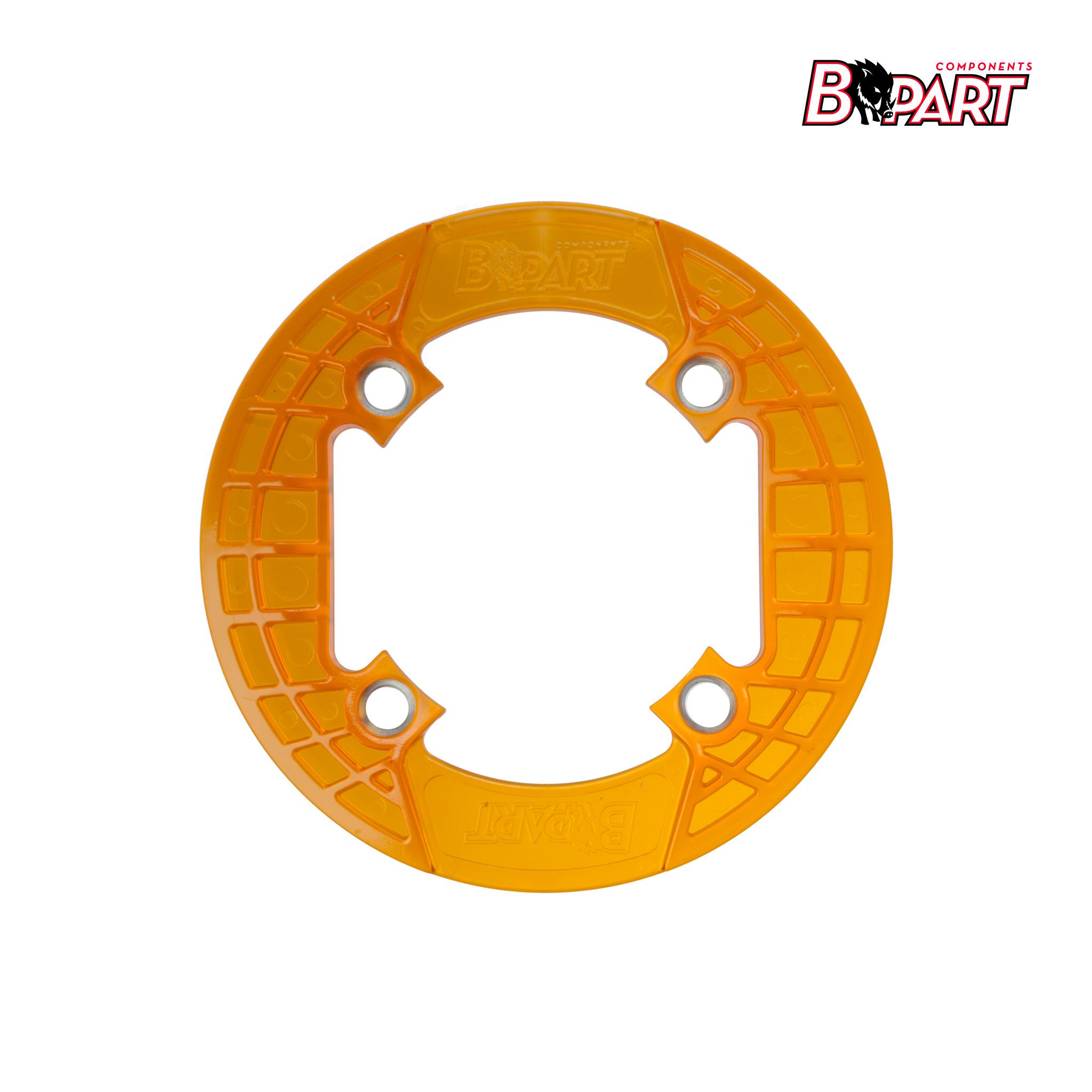 Bpart Components cubreplatos naranja traslucido