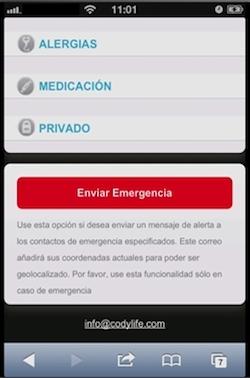 codylife botón emergencia