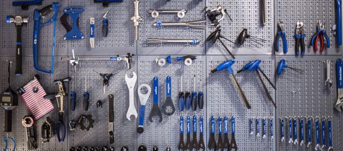 taller casero herramientas mtb