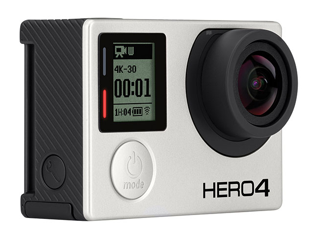 gopro hero4 black angled