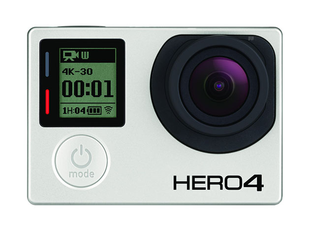 gopro hero4 black front
