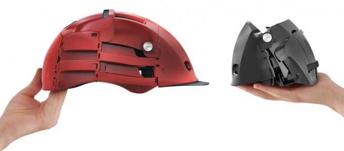 Overade casco plegable