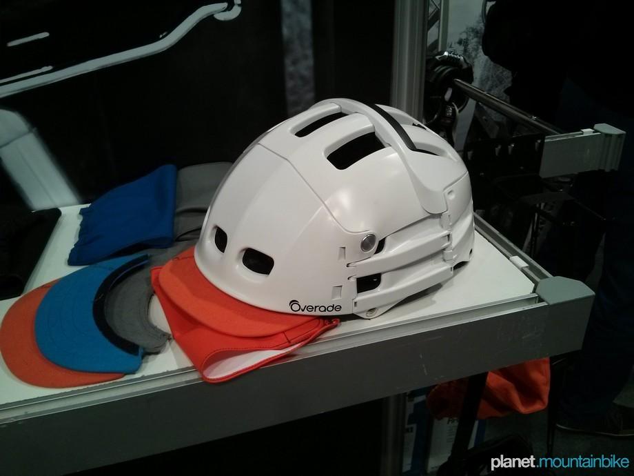 unibike14 overade the folding helmet