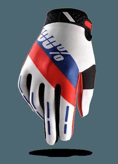 guantes 100percent Ridefit