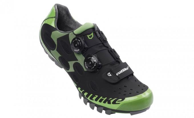 catlike wishper mtb verde zapatillas