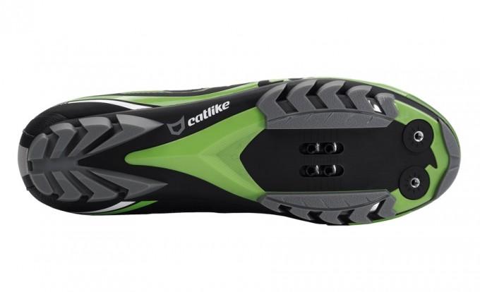 catlike wishper mtb verde zapatillas grafeno