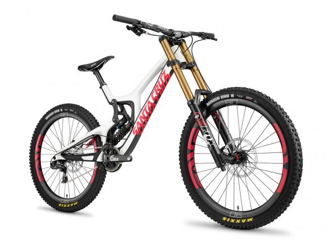 Santa Cruz V10 CC 2015 red