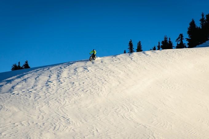 rocky mountain fat bike snow