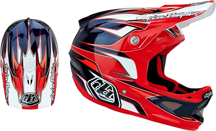 TLD D3 Composite Evo Red
