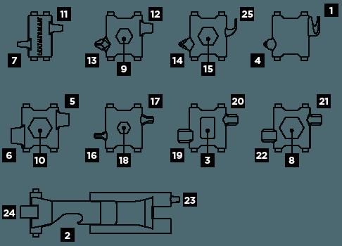 25 herramientas