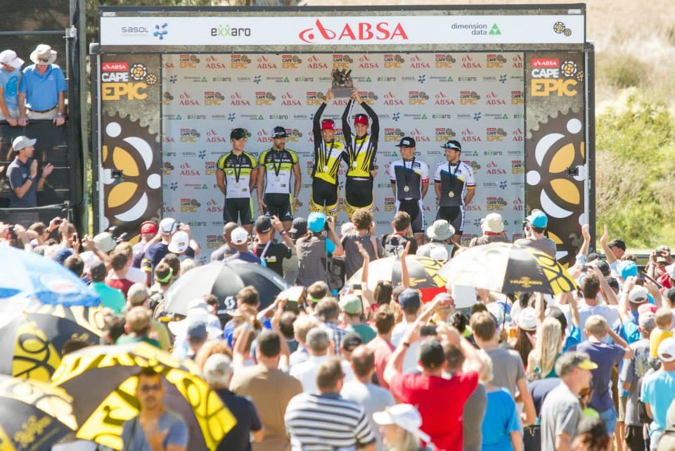 Absa Cape Epic 2015 ganadores