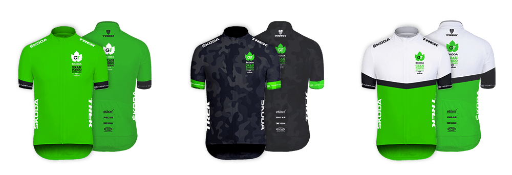 maillots Skoda Gran Fondo Buitrago by Trek