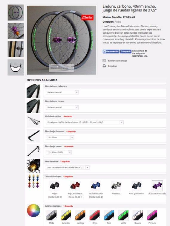 trackstar tienda online