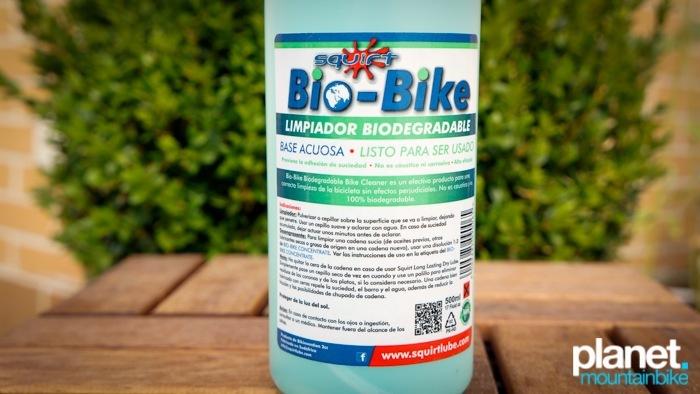 limpiador desengrasante Squirt Bio Bike