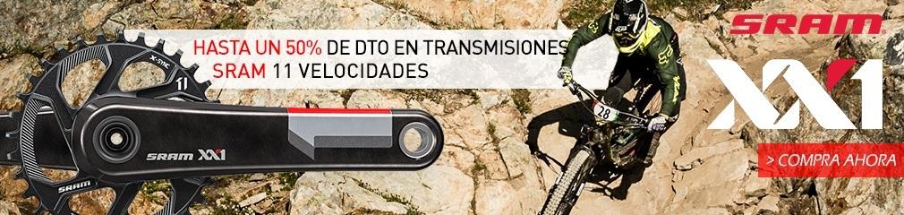 descuentos transmisiones SRAM 11 velocidades