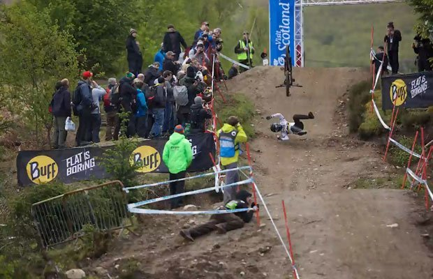 Manon carpenter crash fort william 2015