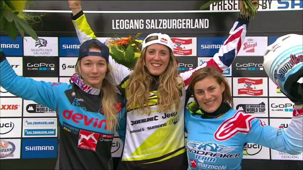 world cup dh leogang 2015 womens