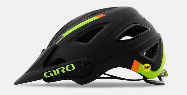 Giro Montaro negro-lima-naranja