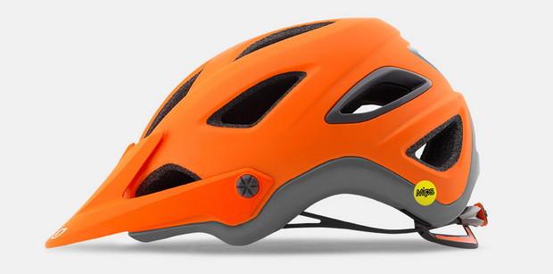 Giro Montaro naranja-gris