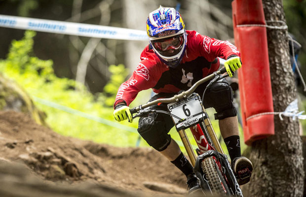 World Cup dh val di sole 2015 video