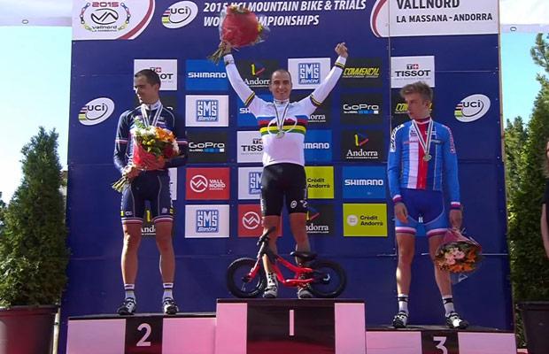 Nino Schrter Campeón del Mundo 2015