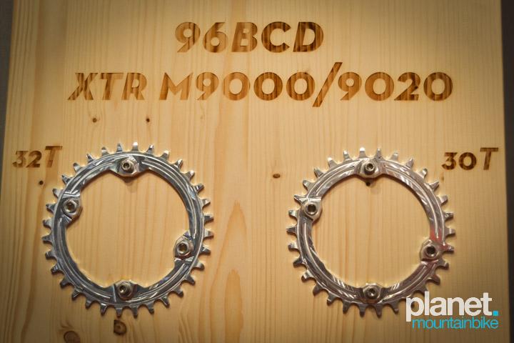 Platos para bielas XTR m9000