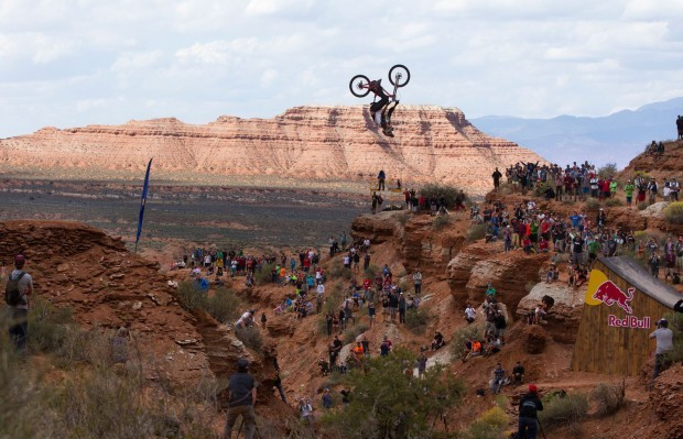 kelly mcgarry backflip redbull rampage 2013