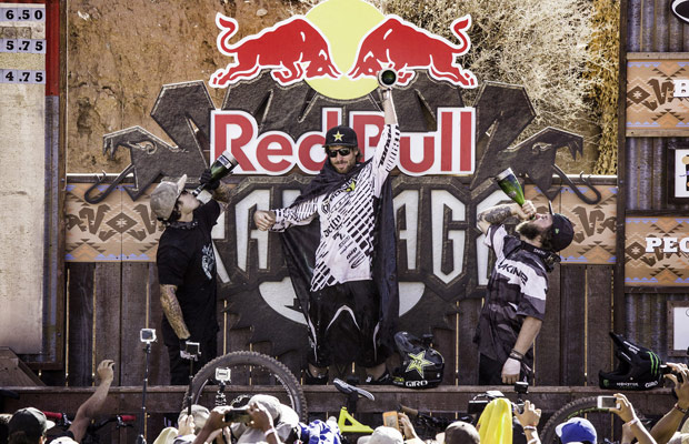 podio red bull rampage 2015
