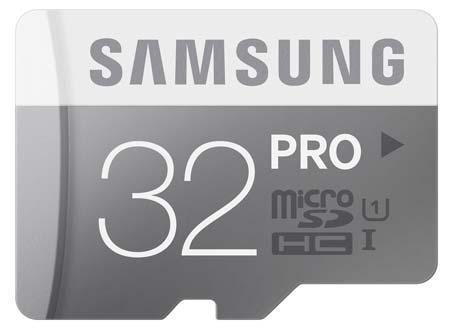 Samsung Pro UHS-I Clase 10 U1 - MB-MG32DA/EU