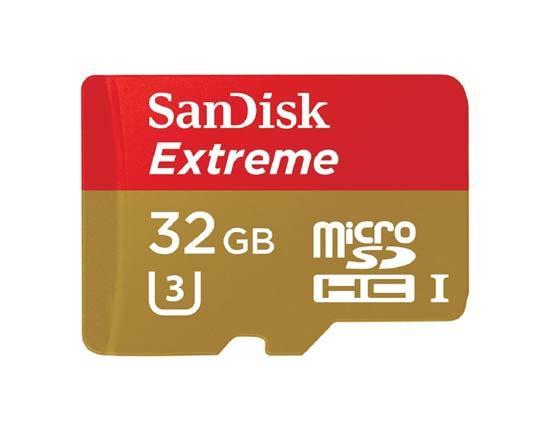 SanDisk Extreme Clase 10 U3 - SDSQXNE-032G-GN6AA