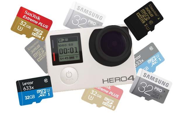 mejores micro SD para GoPro