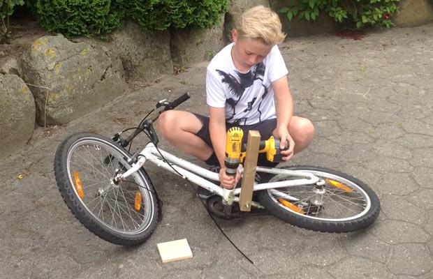 Como fabricar una bicicleta eléctrica fácilmente