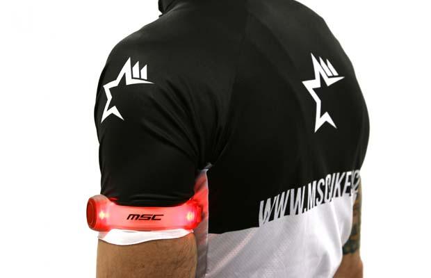MSC bikes luces de seguridad