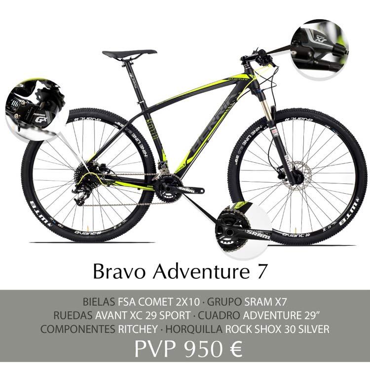 Berria Bravo Adventure 7 Aluminio