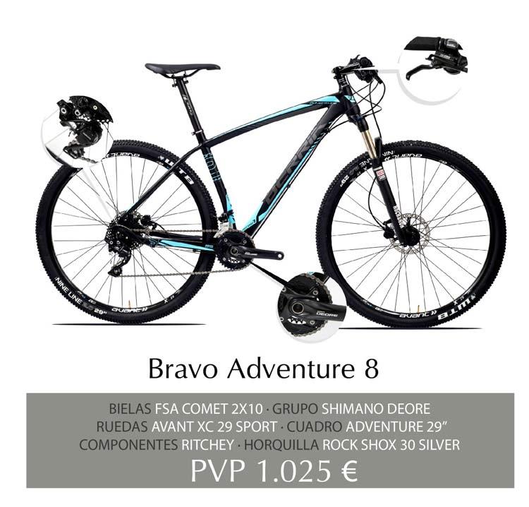 Berria Bravo Adventure 8 Aluminio