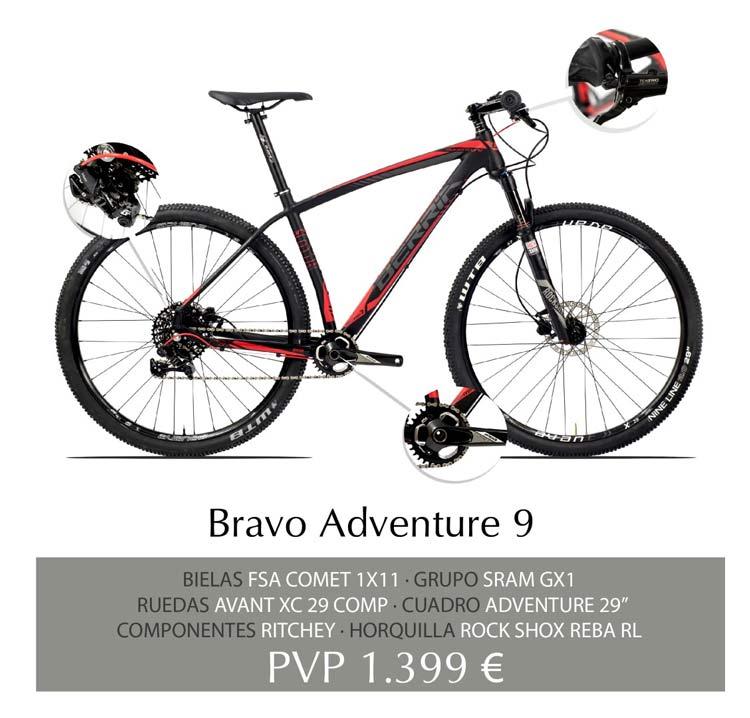Berria Bravo Adventure 9 Aluminio