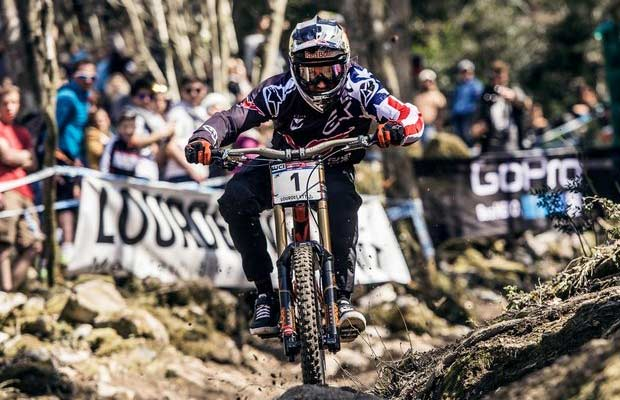 World Cup DH 2016 Lourdes