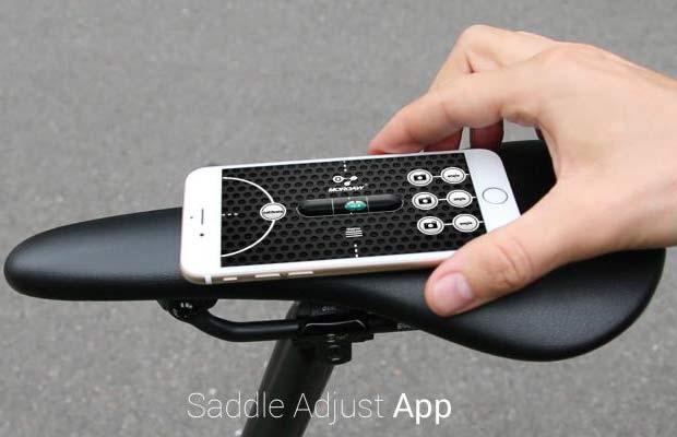 MORGAW Saddle Adjust App iOS & Android